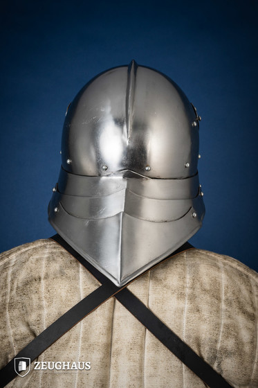 German Sallet Helmet 15th century  (2 mm), polished