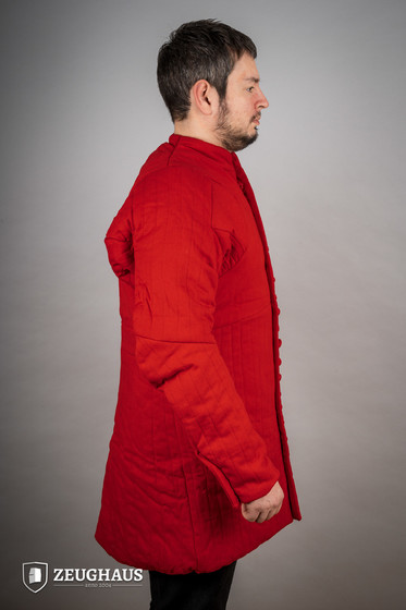 gambeson type 6 (14 C. style), red