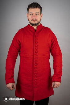 Gambeson Typ 6 (14 Jh. Stil), rot