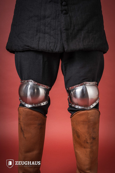 knee protection 14C. style, polished