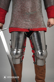 greaves ¾ 14 C. style, polished; fir for full-contact