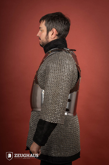 Cuiras With Leather Fitting