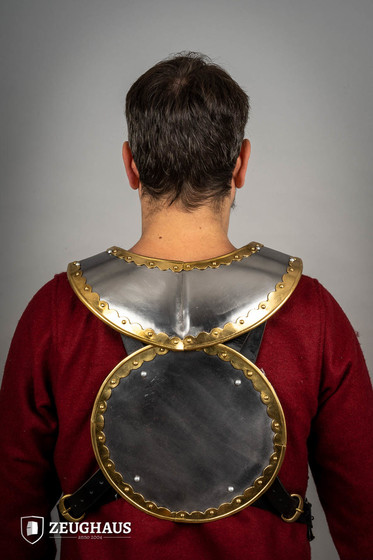 Hussar Gorget With Brass Fitting