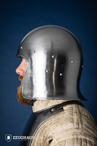 Barbuta Helmet Type 1 (1,6 mm), polished