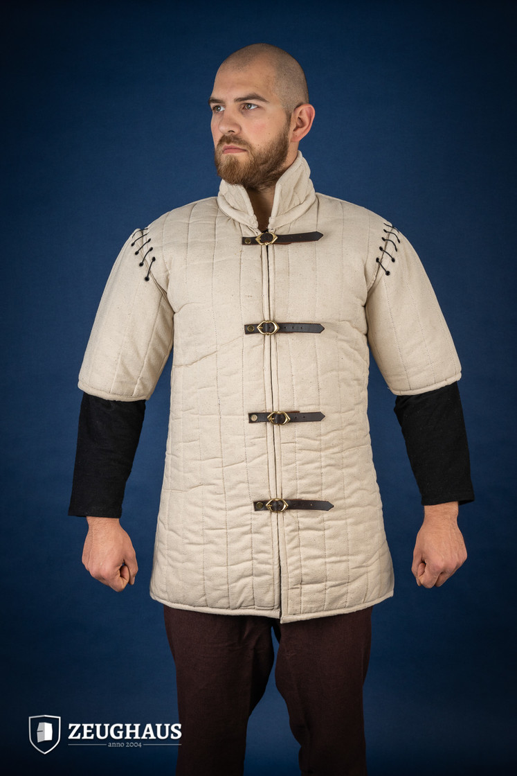 gambeson type 1 (long+short sleeves), ecru Big Picture-7