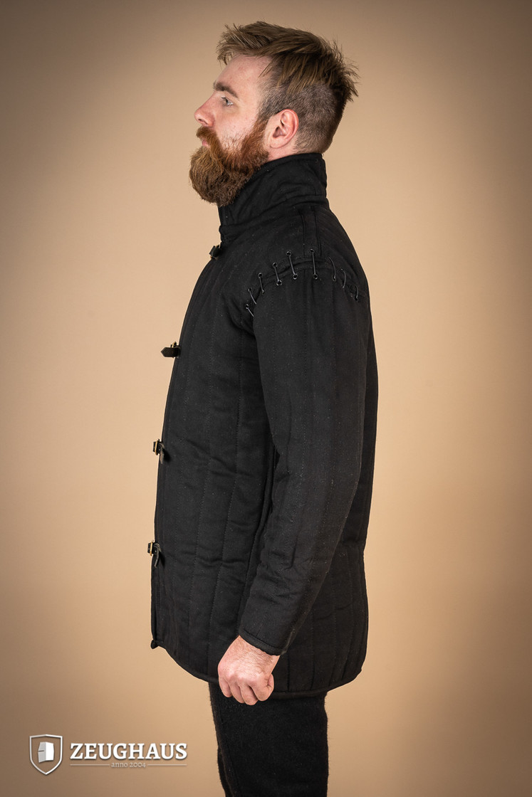 gambeson type 1 (long+short sleeves), black Big Picture-3